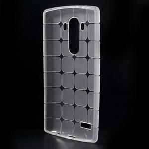 Square gelový obal na LG G4 - bílý - 2