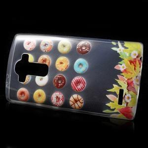 Softy gelový obal na mobil LG G4 - donuts - 2