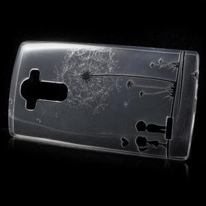 Softy gelový obal na mobil LG G4 - zamilovaný pár - 2