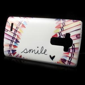 Softy gelový obal na mobil LG G4 - smile - 2