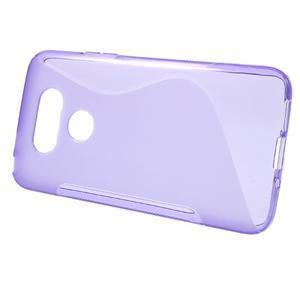 S-line gelový obal na mobil LG G5 - fialový - 2