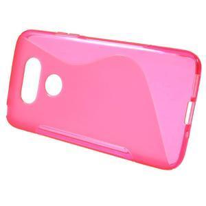 S-line gelový obal na mobil LG G5 - rose - 2