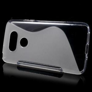 S-line gelový obal na mobil LG G5 - transparentní - 2