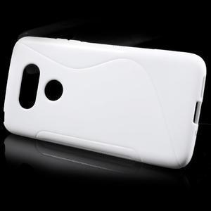 S-line gelový obal na mobil LG G5 - bílý - 2