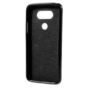 Lesklý gelový obal na mobil LG G5 - černý - 2