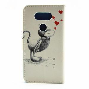 Pouzdro na mobil LG G5 - zamilovaný kocour - 2