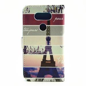 Pouzdro na mobil LG G5 - Eiffelova věž - 2