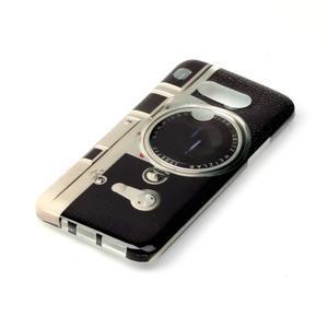 Gelový obal na mobil LG G5 - retro foťák - 2