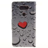 Obrázkové koženkové pouzdro na LG G5 - srdce - 2/7