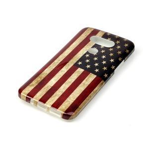 Gelový obal na mobil LG G5 - US vlajka - 2