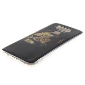 Softy gelový obal na mobil LG G5 - lev - 2