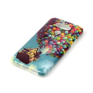 Gelový obal na mobil LG G5 - vznášející se balónky - 2