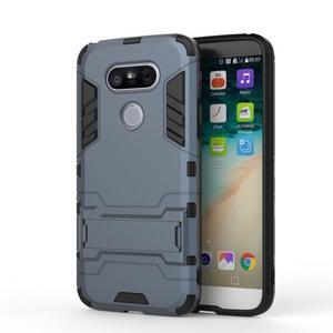 Odolný kryt na mobil LG G5 - šedomodrý - 2