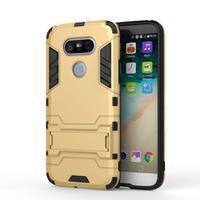 Odolný kryt na mobil LG G5 - zlatý - 2/6