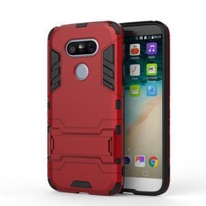 Odolný kryt na mobil LG G5 - červený - 2