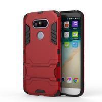 Odolný kryt na mobil LG G5 - červený - 2/3