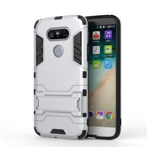 Odolný kryt na mobil LG G5 - stříbrný - 2