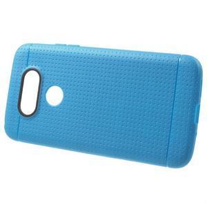 Rubby gelový kryt na LG G5 - modrý - 2