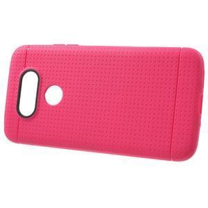 Rubby gelový kryt na LG G5 - rose - 2