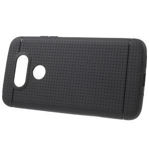 Rubby gelový kryt na LG G5 - černý - 2