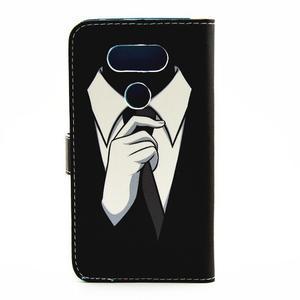 Pouzdro na mobil LG G5 - gentleman - 2