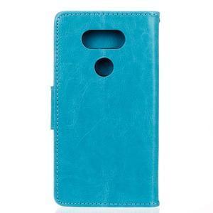 Lees peněženkové pouzdro na LG G5 - modré - 2