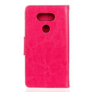Lees peněženkové pouzdro na LG G5 - rose - 2