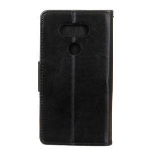 Lees peněženkové pouzdro na LG G5 - černé - 2