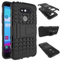 Outdoor odolný obal na mobil LG G5 - černý - 2/2