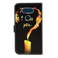 Pouzdro na mobil LG G5 - ohnivá láska - 2/7