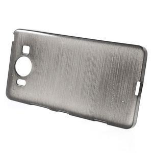Brush hladký gelový obal na Microsoft Lumia 950 - černý - 2