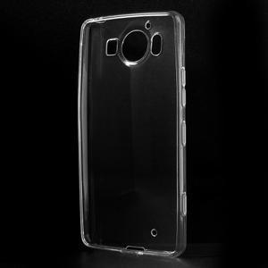 Transparentní gelový obal na Microsoft Lumia 950 - 2
