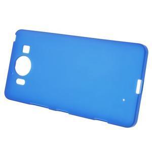 Matný gelový obal na Microsoft Lumia 950 - modrý - 2