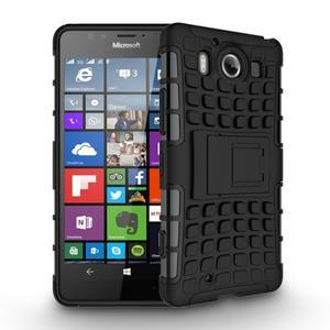 Outdoor odolný kryt na mobil Microsoft Lumia 950 - černý - 2