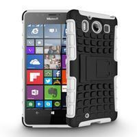 Outdoor odolný kryt na mobil Microsoft Lumia 950 - bílý - 2/3
