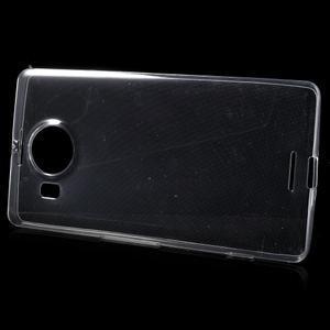 Ultratenký gelový obal na Microsoft Lumia 950 XL - transparentní - 2