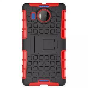 Odolný outdoor obal na mobil Microsoft Lumia 950 XL - červený - 2