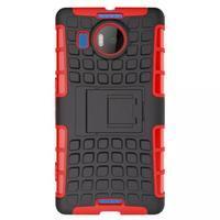 Odolný outdoor obal na mobil Microsoft Lumia 950 XL - červený - 2/7