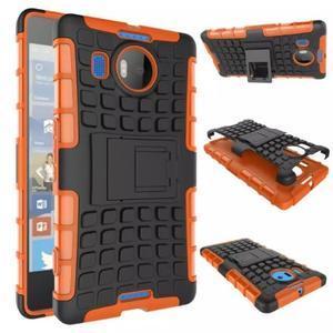 Odolný outdoor obal na mobil Microsoft Lumia 950 XL - oranžový - 2