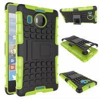 Odolný outdoor obal na mobil Microsoft Lumia 950 XL - zelený - 2/2
