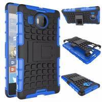 Odolný outdoor obal na mobil Microsoft Lumia 950 XL - modrý - 2/2