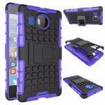 Odolný outdoor obal na mobil Microsoft Lumia 950 XL - fialový - 2/2