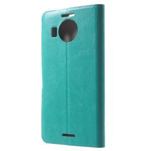 Horse peněženkové pouzdro na Microsoft Lumia 950 XL - modré - 2
