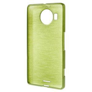 Brushed gelový obal na mobil Microsoft Lumia 950 XL - zelený - 2