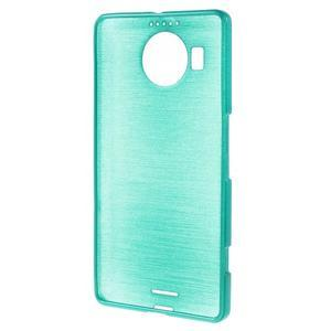 Brushed gelový obal na mobil Microsoft Lumia 950 XL - modrý - 2