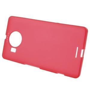 Matný gelový obal na mobil Microsoft Lumia 950 XL - červený - 2