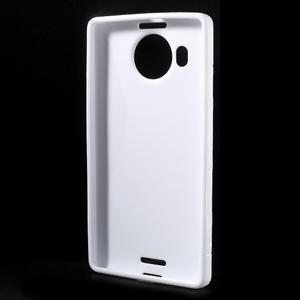 S-line gelový obal na mobil Microsoft Lumia 950 XL - bílý - 2