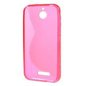 S-line gelový obal na mobil HTC Desire 510 - rose - 2