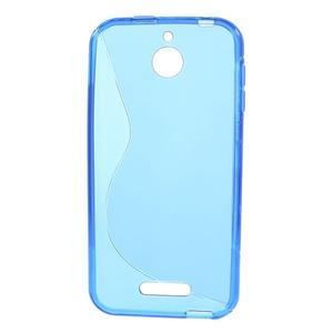 S-line gelový obal na mobil HTC Desire 510 - modrý - 2
