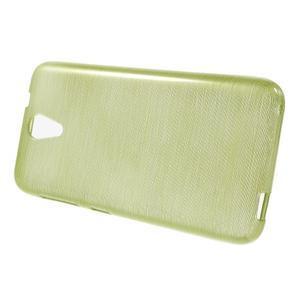 Brushed hladký gelový obal na HTC Desire 620 - zelený - 2
